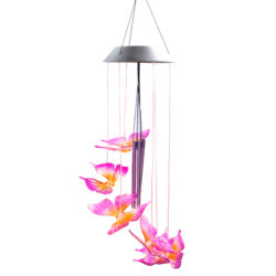 Solar Wind Chime Butterfly